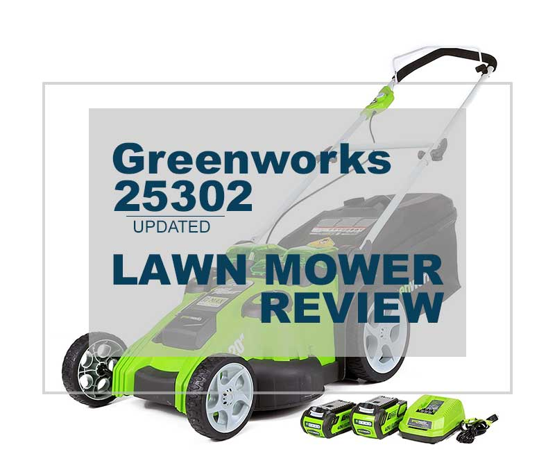 Greenworks 25302 Electric Mower Review Twin Force G Max
