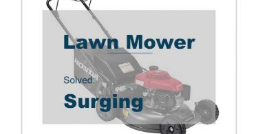Lawn Mower Surging