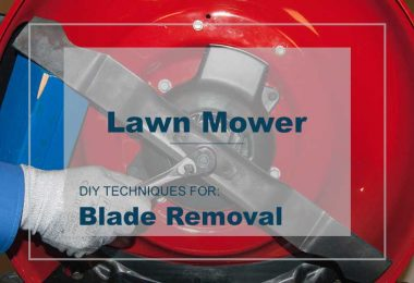 Lawn Mower Blade Removing