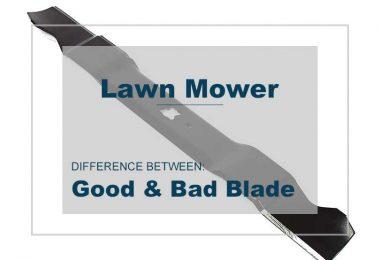 GOOD OR BAD Lawnmower blade